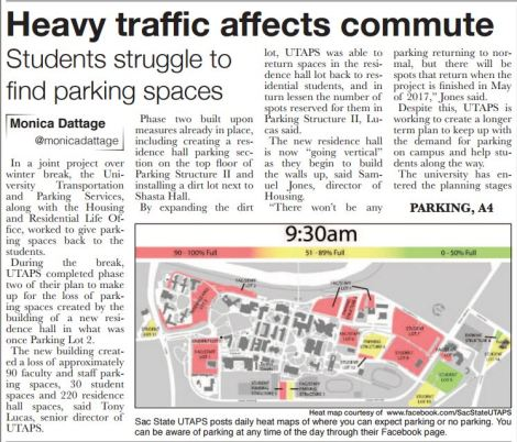 parking changes